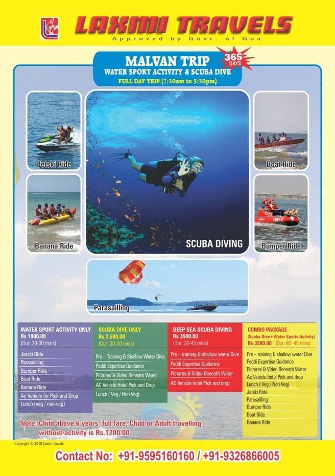 Scuba Dive + Watersport - Tour