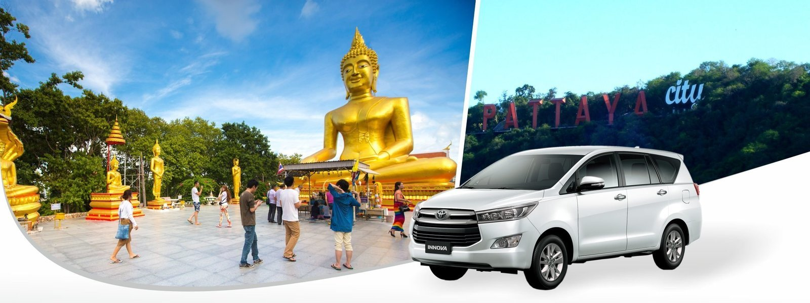 Swarnabhumi Airport To DMK Airport Transfer (BY Innova) PRIVATE - Tour