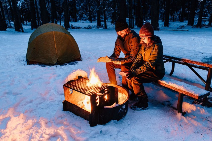 Winter Camping and Hiking - Tour