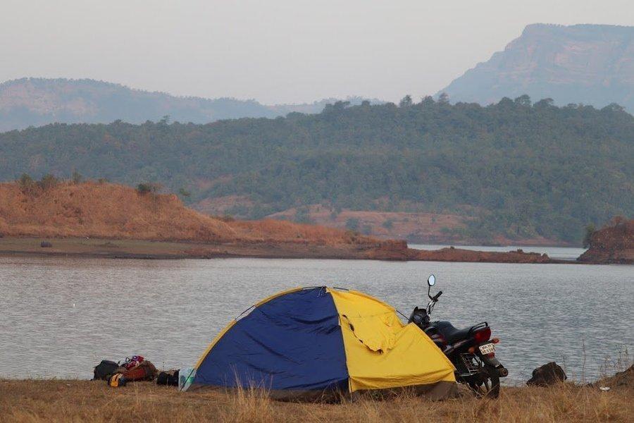 Camping , Trekking & Rappelling at Karjat - Tour