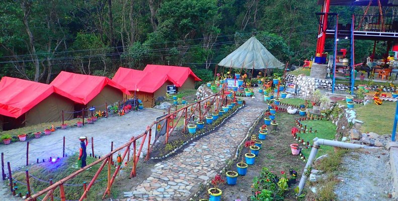Rishikesh Camp - Tour