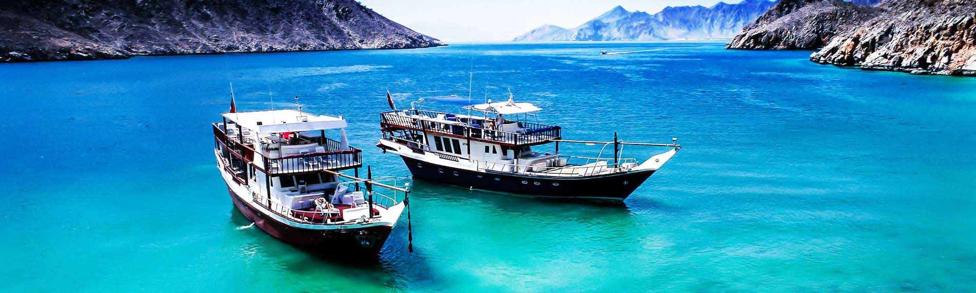 Oman Musandam Tour / Dibba Musandam Sea Safari - Tour