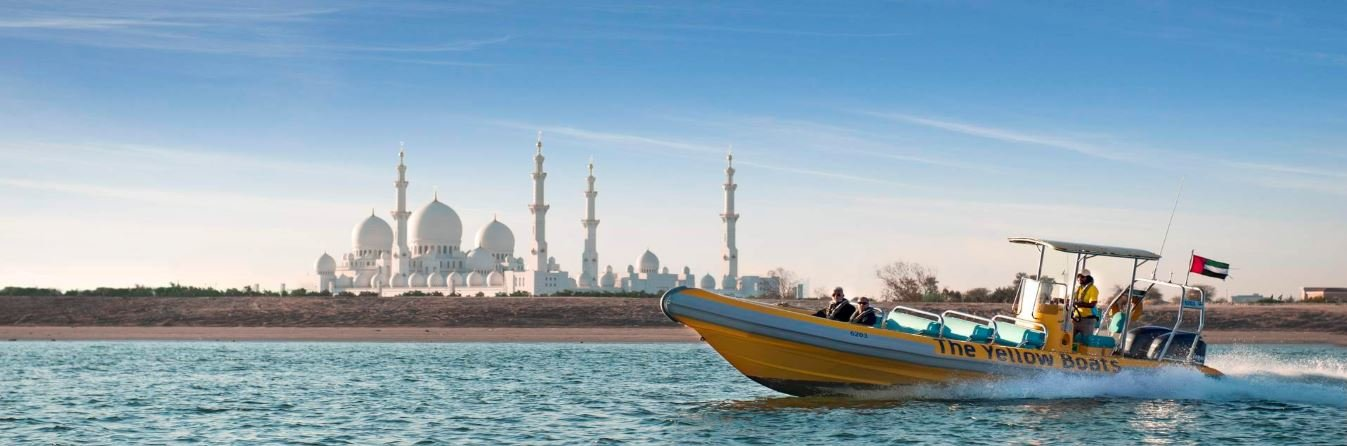Emirates Palace, Royal Palace And Grand Mosque Boat Sightseeing Tour - Tour