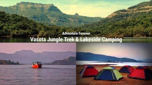 Jungle trek and night Camping at VASOTA