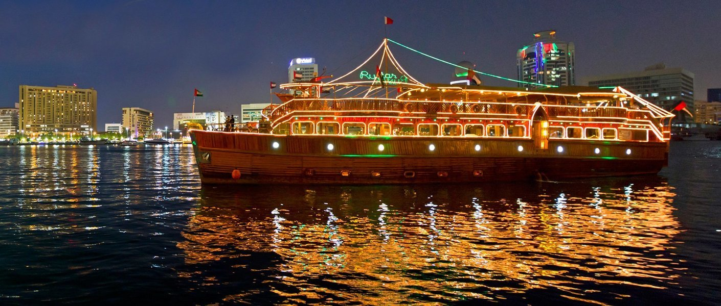 Dubai Marina Dinner Cruise - Tour
