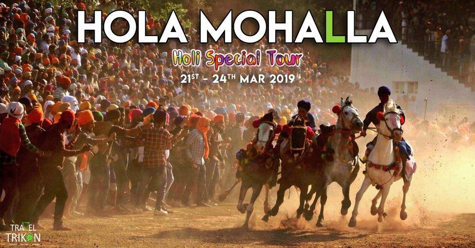 Hola Mohalla Holi Special Trip - Tour