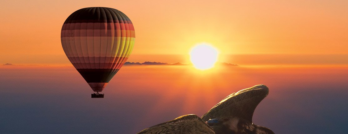 Sunrise Hot Air Balloon Experience in Dubai - Tour