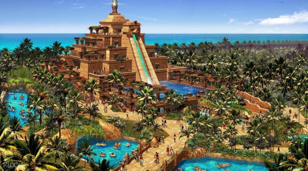 Atlantis Aquaventure Water Park - Tour