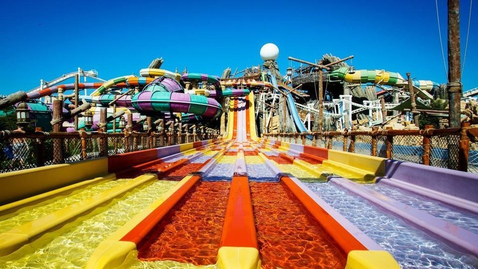 Yas Waterworld Abu Dhabi - Tour