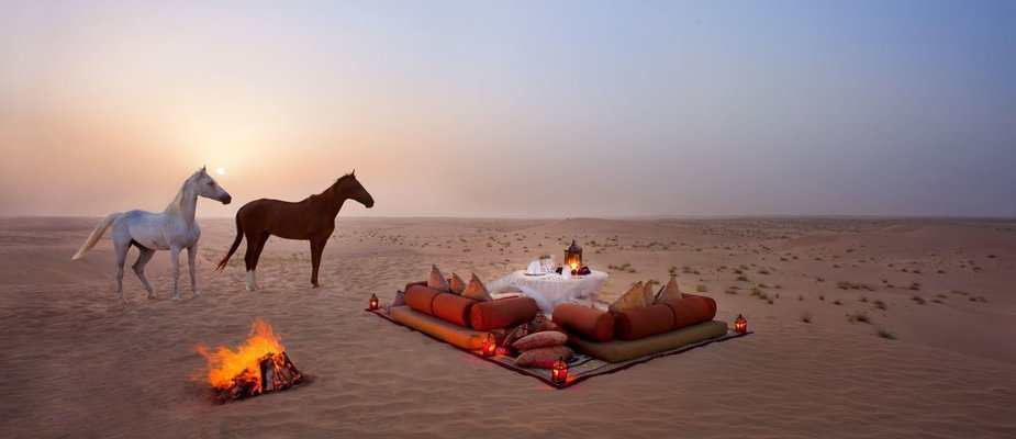 Abu Dhabi Evening Desert Safari with BBQ Dinner - Tour