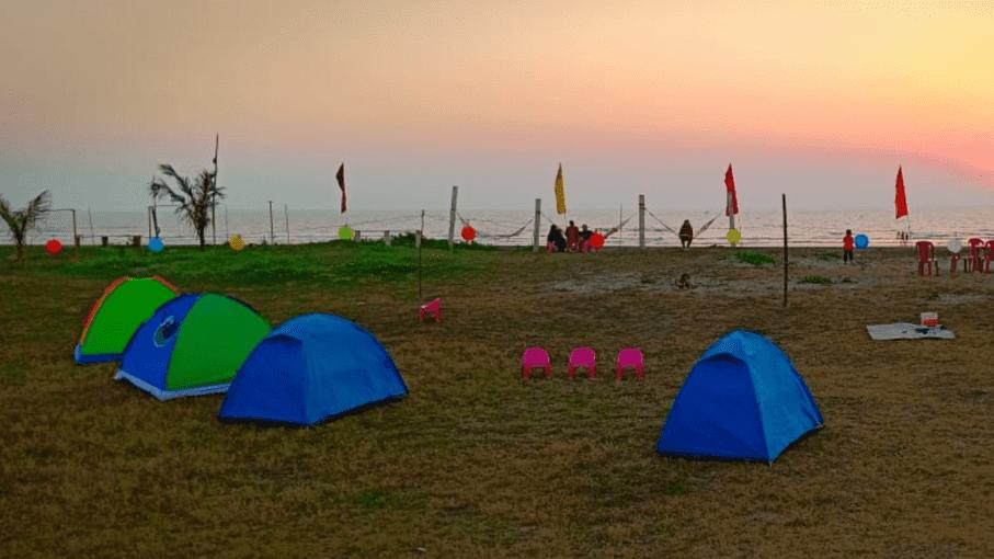 Beach Camping at Alibaug - Tour