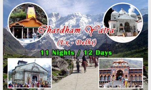 Char Dham Yatra 11N 12D - Tour