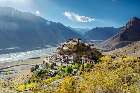 Backpack Tour to  Spiti Valley