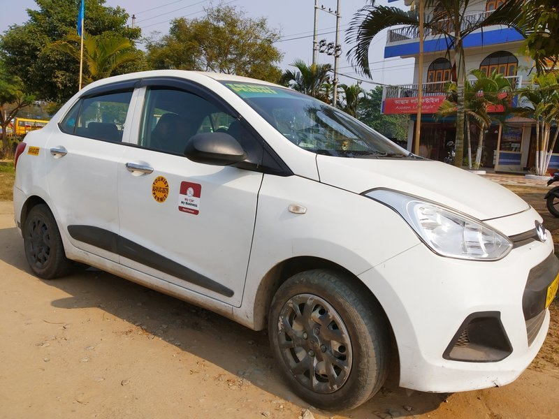 Tezpur city to Guwahati airport one way transfer in SIC - Tour