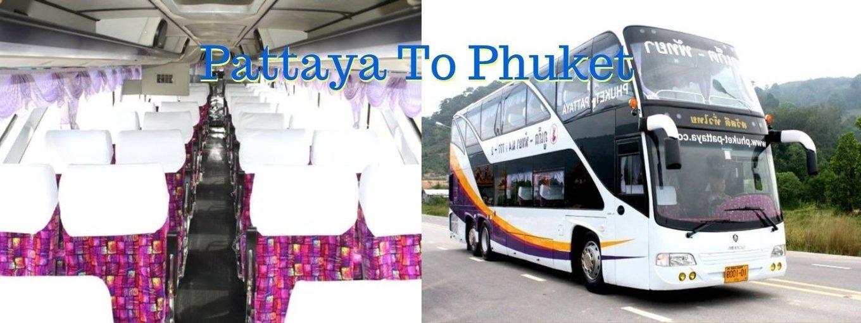 Phuket To Pattaya By Bus - Tour