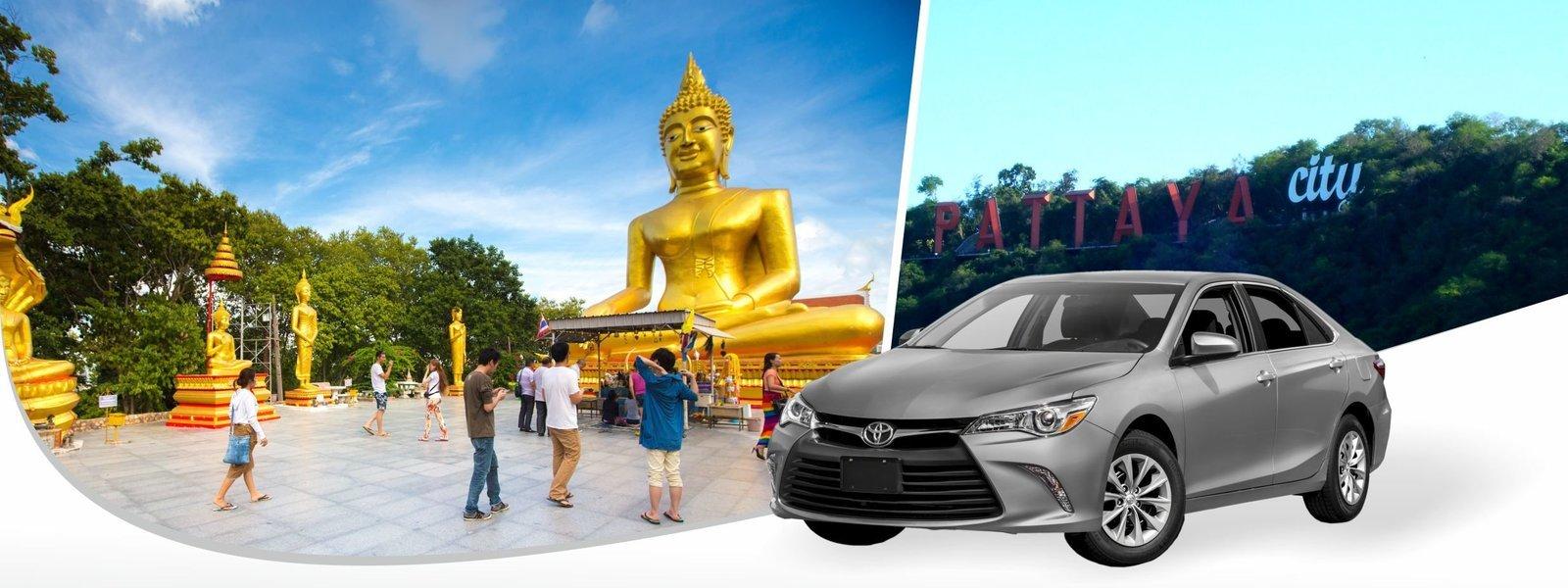 Pattaya Hotel To DMK (Don Mueang Airport Bangkok) (SEDAN) - Tour