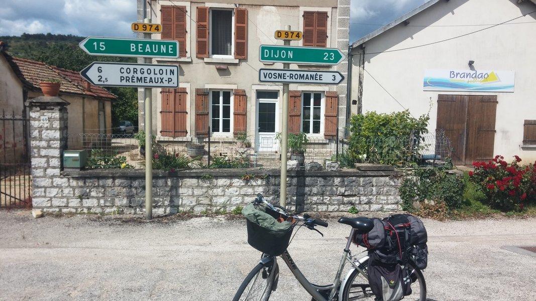 Dijon e Beaune de bike   02 dias (com guia) - Tour