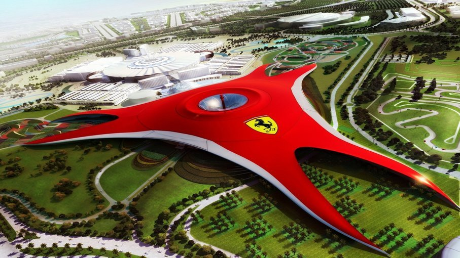 Ferrari world AbuDhabi - Tour