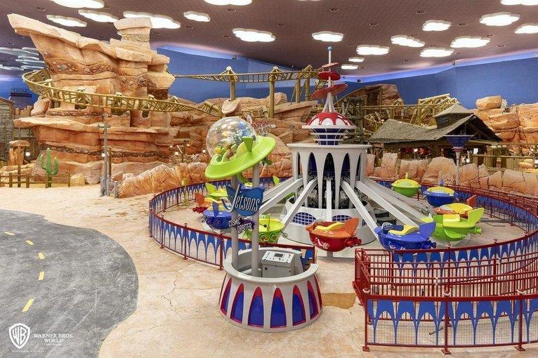 WarnerBros world Abu Dhabi - Tour