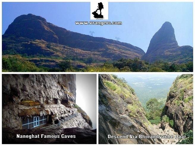 VRangers Naneghat & Decsced via bhorandyachi dhaar - Tour