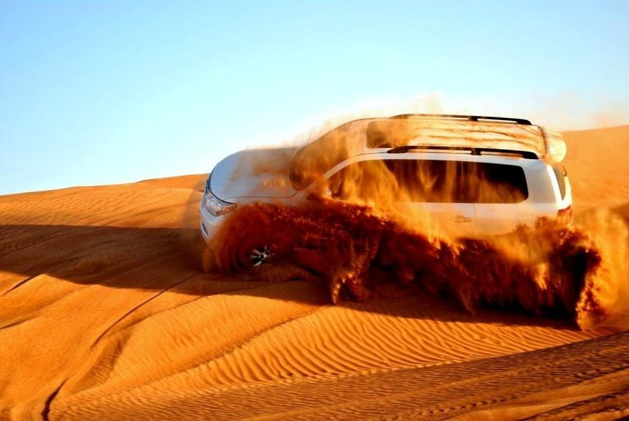 UAE - Desert Safari with BBQ Dinner - Tour