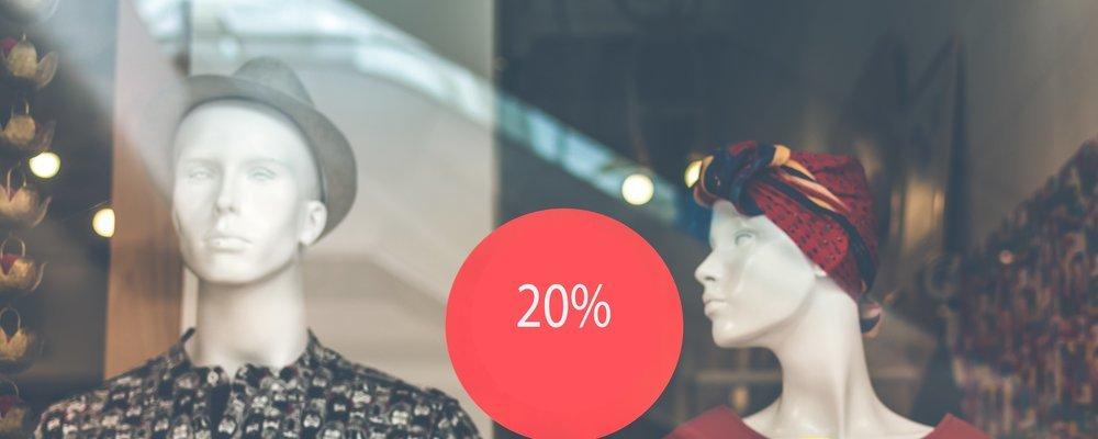 SAVE FLAT 20% ON WEEK DAYS - Coupon