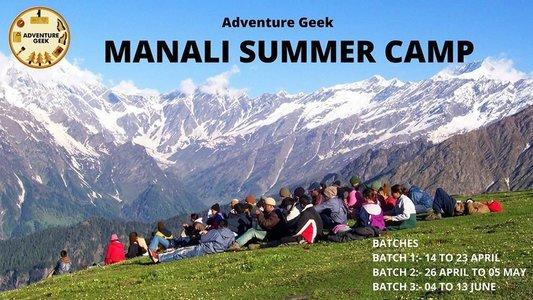 Summer Camp In Manali