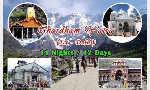 Chardham Tour : Ex - Delhi11N/12D - Tour