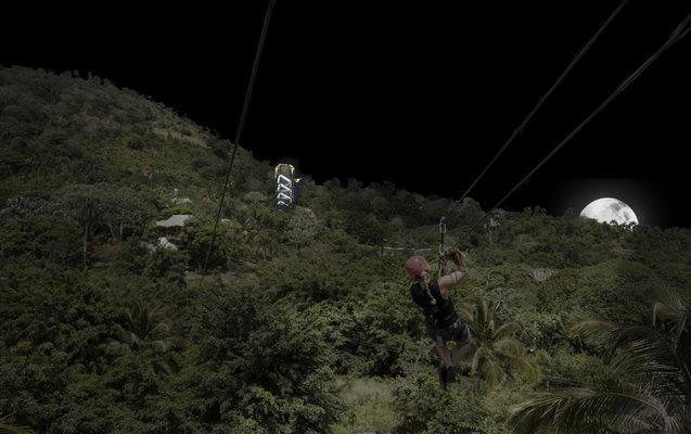 Night Zip Line Adventure - Tour