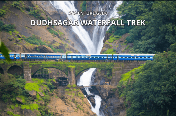 Monsoon Thrilling - Dudhsagar Waterfall Trek - Tour