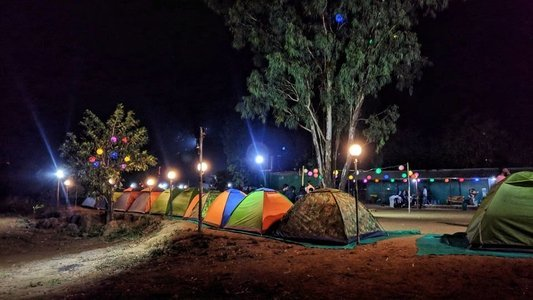 Lakeside Camping at Pawna - Monsoon Special