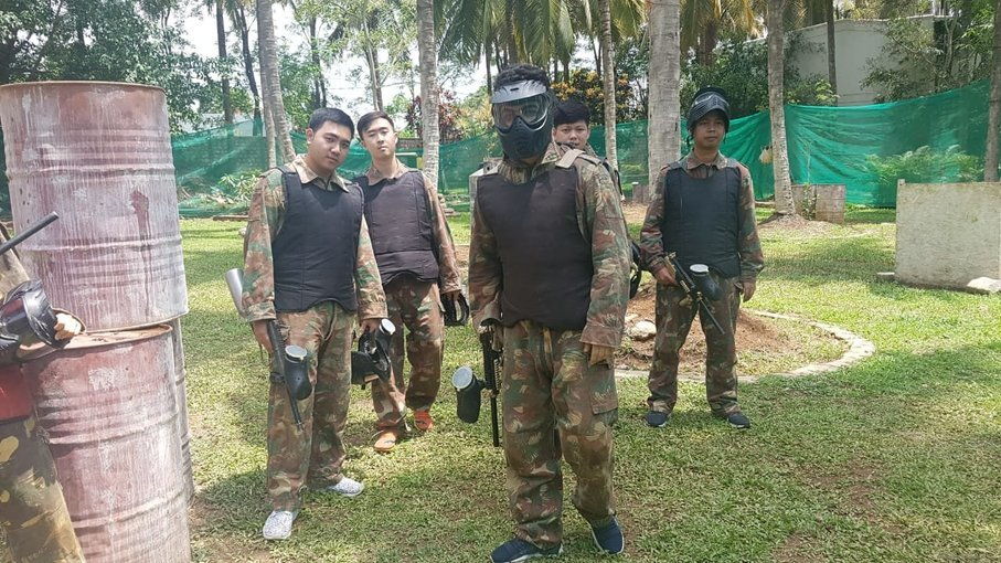 Paintball Arena Bangalore - Tour