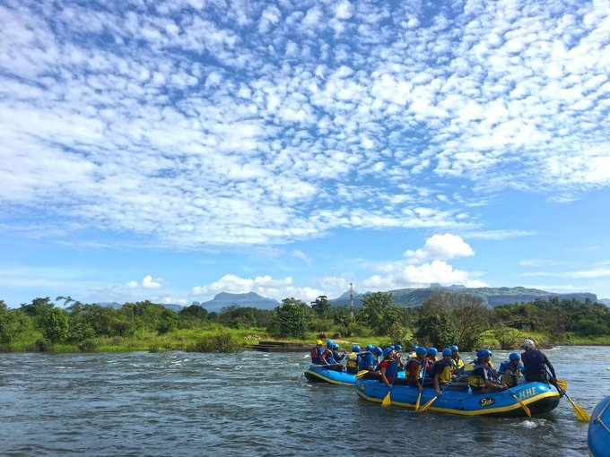 River Rafting at Kolad - WEEKEND - Tour