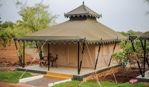 Swiss Tent Stay at Kolad - Weekends