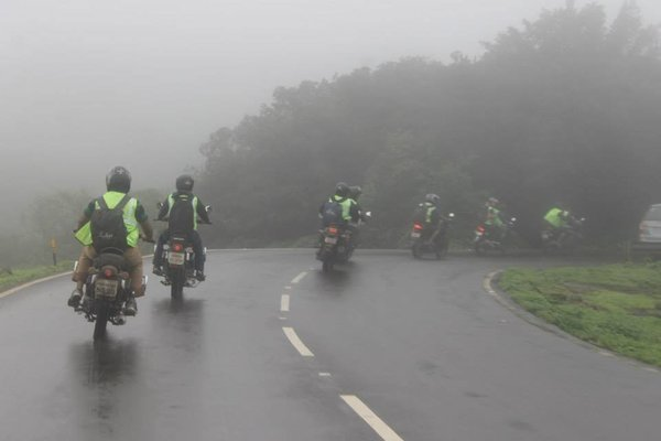 VRangers one day Monsoon special Bike Ride to Tamhini Ghat - Tour