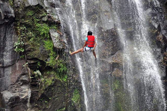 Waterfall Rappelling at Bekre - Tour