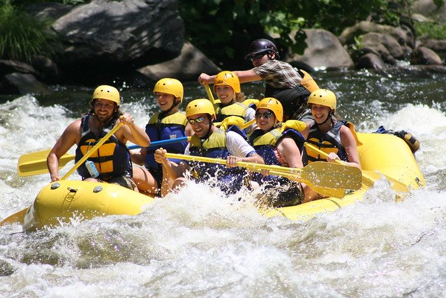 White Water Rafting in Kolad + Lunch - Weekend - Tour