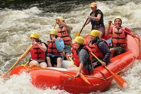 River Rafting at Kolad