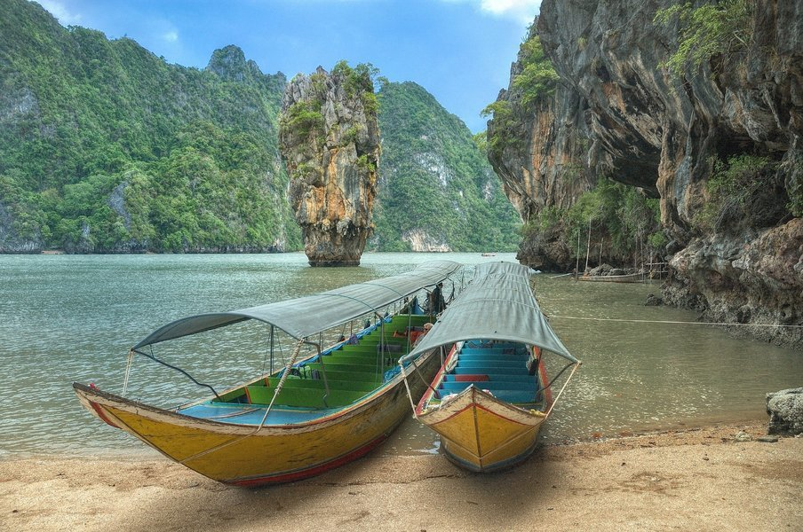 Phang Nga Bay (James Bond Island) with Lunch by Long tail boat - Tour
