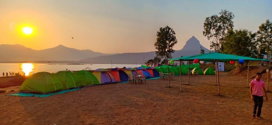 Pawna Lakeside Camping - Tour