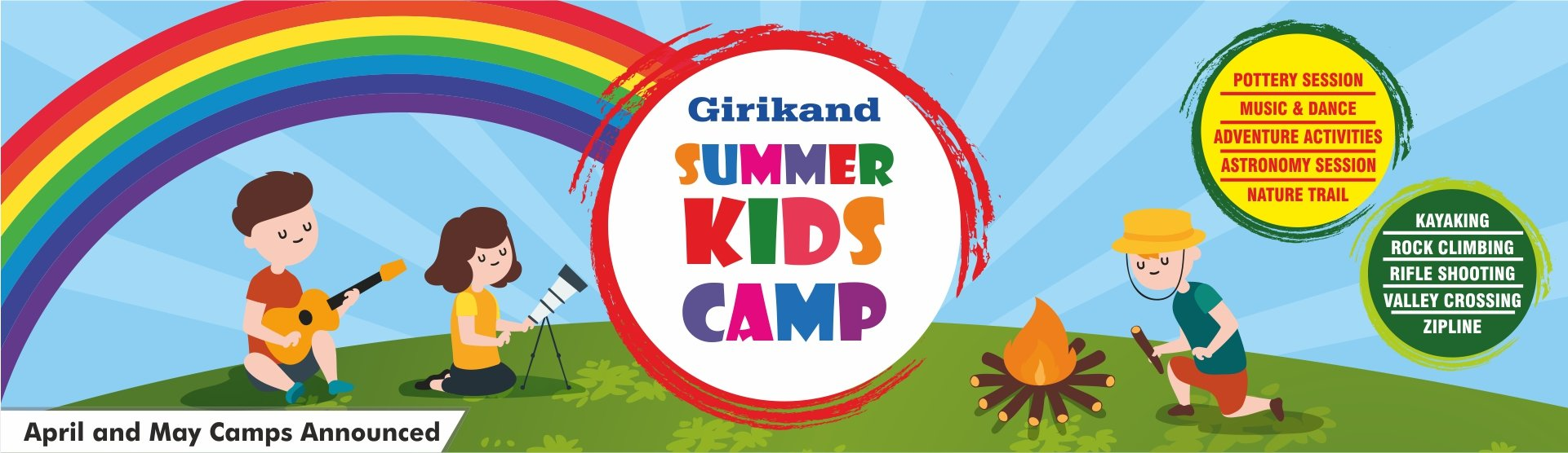 Kids Camp (8-14 Years) - Collection