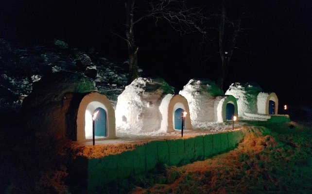 Manali Igloo Camping & Stay - Tour
