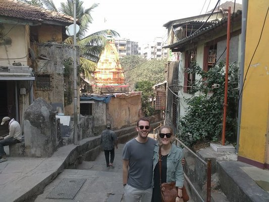 Customized Tour: Half Day Baanganga Temple Complex + Hanging Gardens 6Feb - Tour