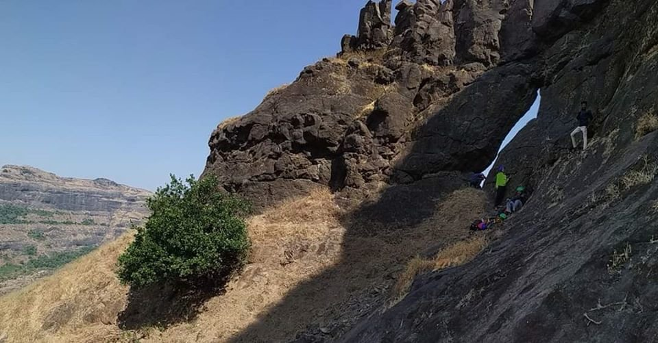 VRangers trek to Padilingi and Naneghat Descend via bhorandyachi dhaar - Tour