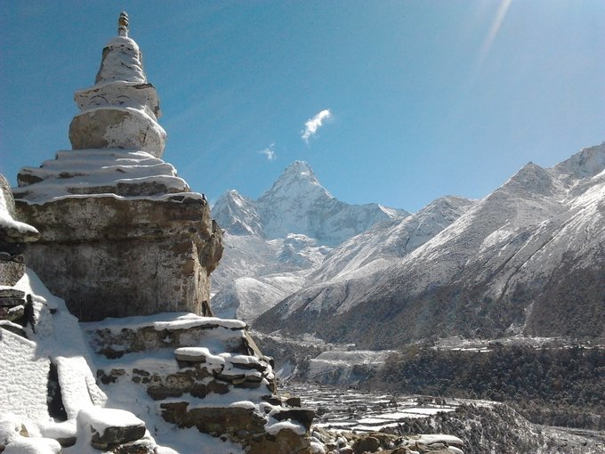 Everest Base Camp And Island Peak - Tour