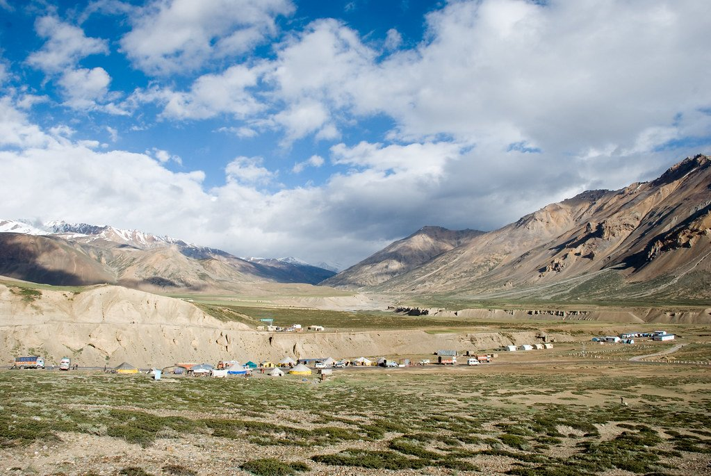 Camps in Sarchu - Collection