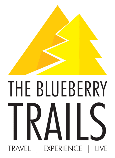 The Blueberry Trails Logo