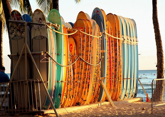 Surfing Board - Tour