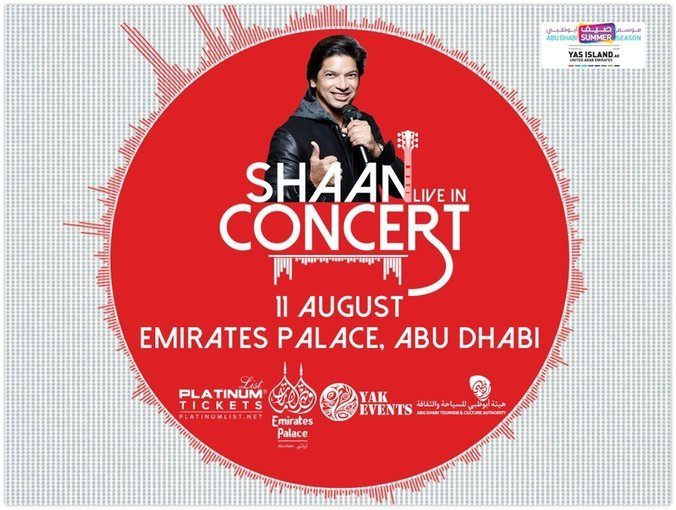 Shaan Live in Concert! - Tour