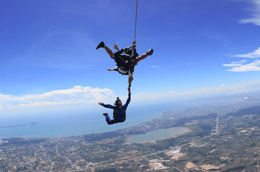 Skydiving in Pattaya (Deposit Only)